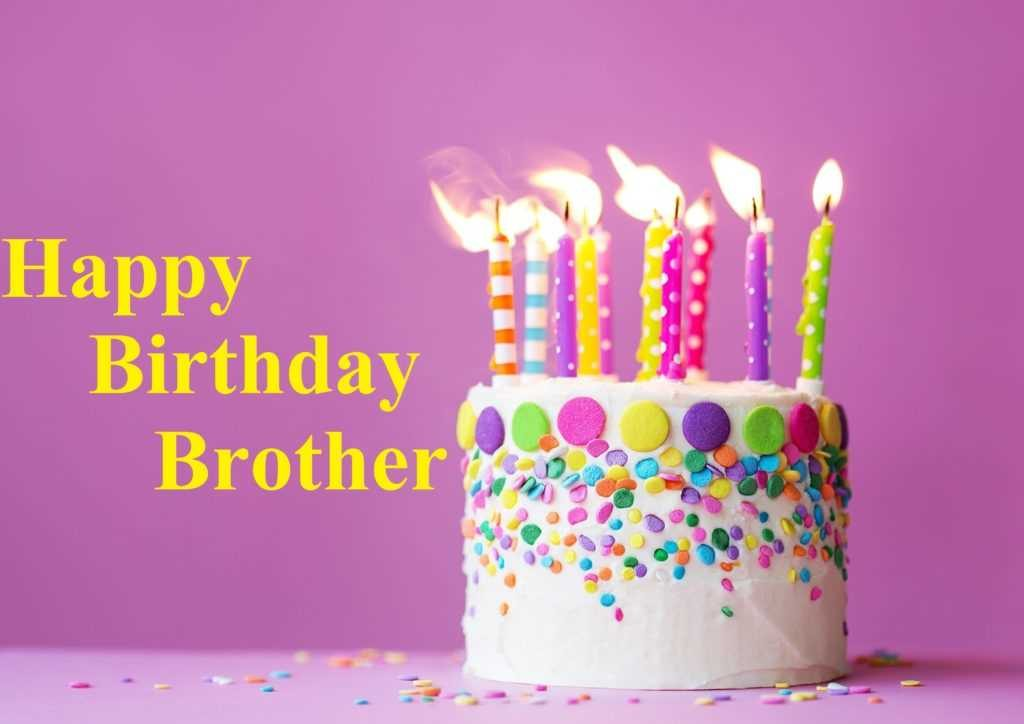 Groovy Happy Birthday Images For My Brother Wishes Cards Personalised Birthday Cards Bromeletsinfo