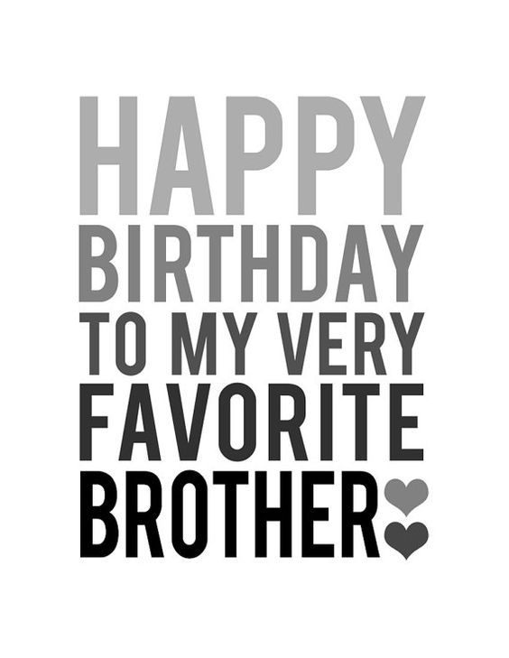 Good Wish For Brother Birthday