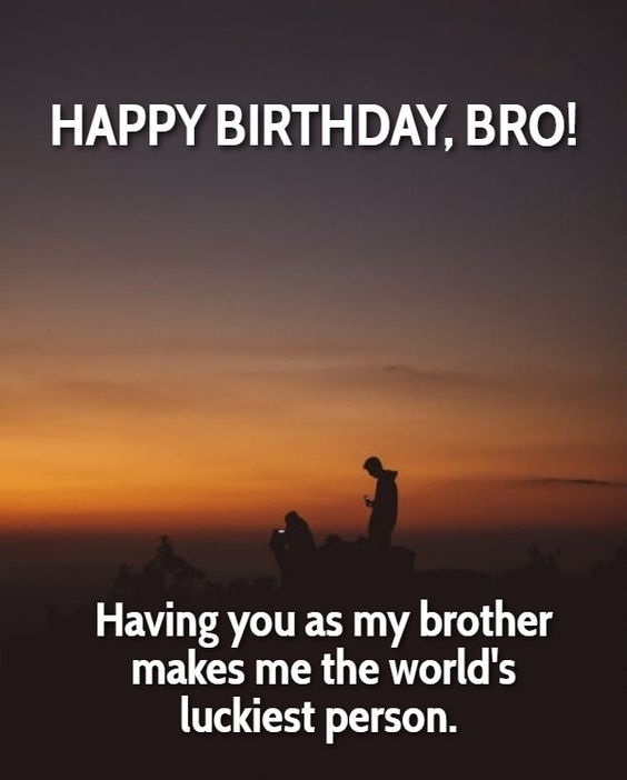 Good Wish For Brother